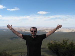 Foto: Fabian im Stirling Range Nationalpark im westlichen Australien