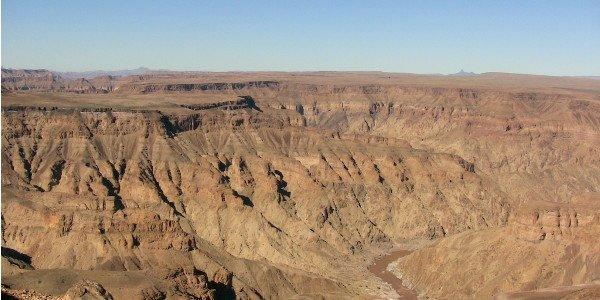 Blick auf den Fish River Canyon Namibias