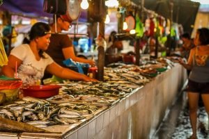Reisefotografie-Fischmarkt