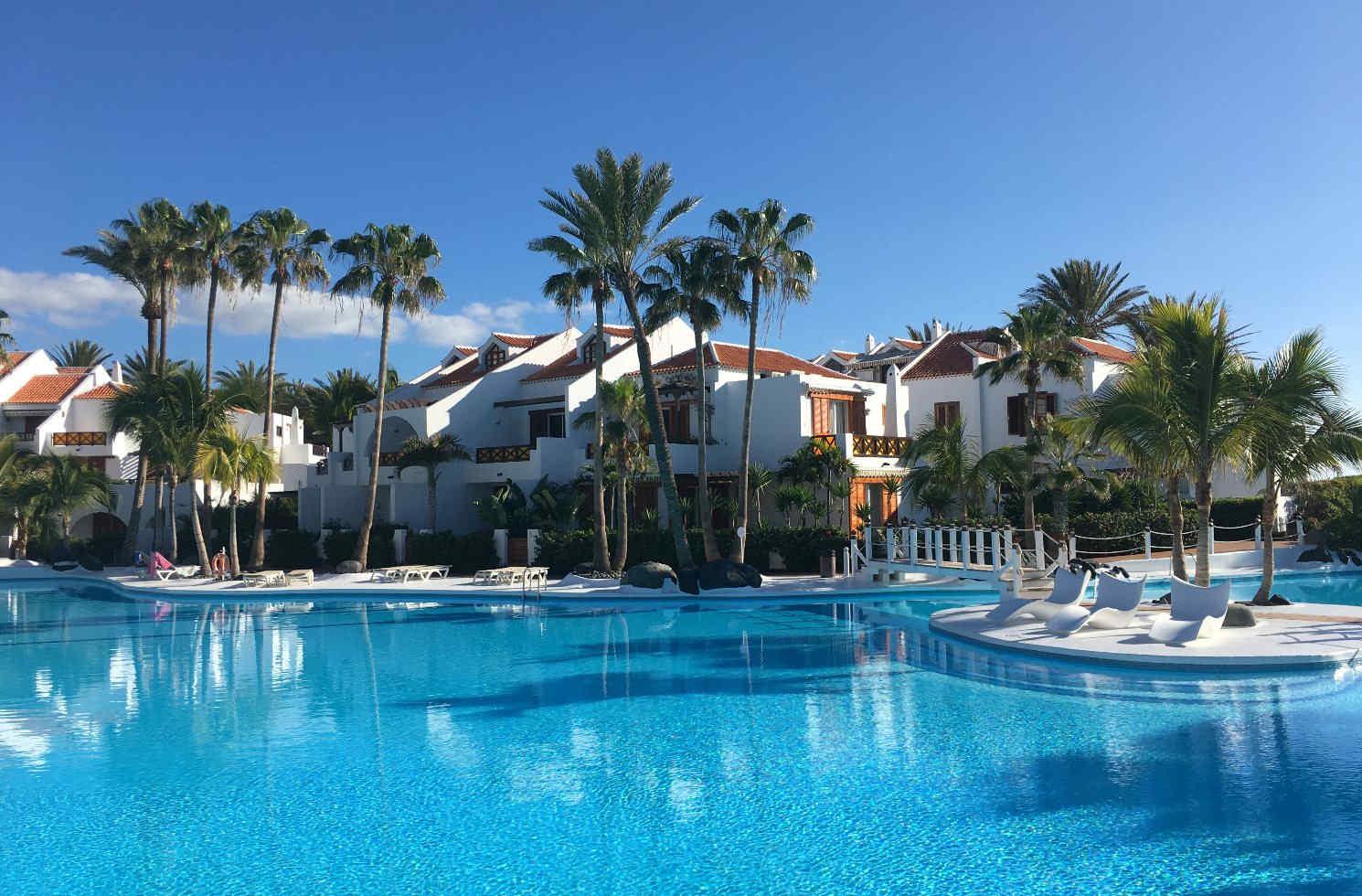 Hotelanlage auf Teneriffa, Spanien