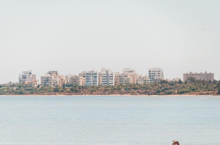 Blick auf Larnaca, Zypern