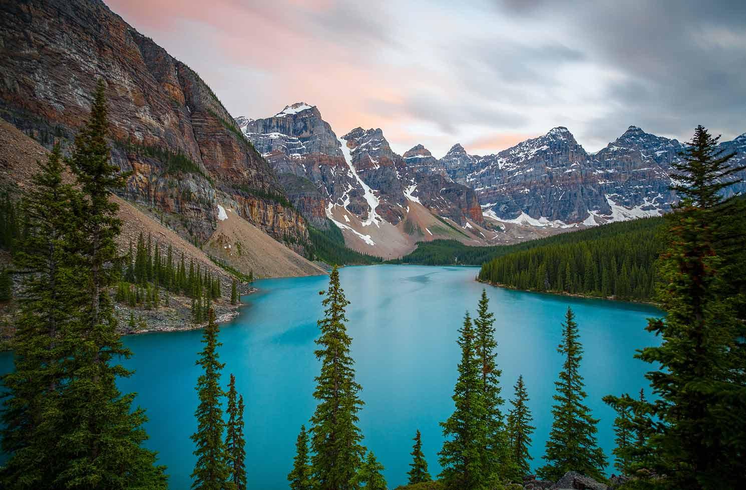 Seenlandschaft in Kanada
