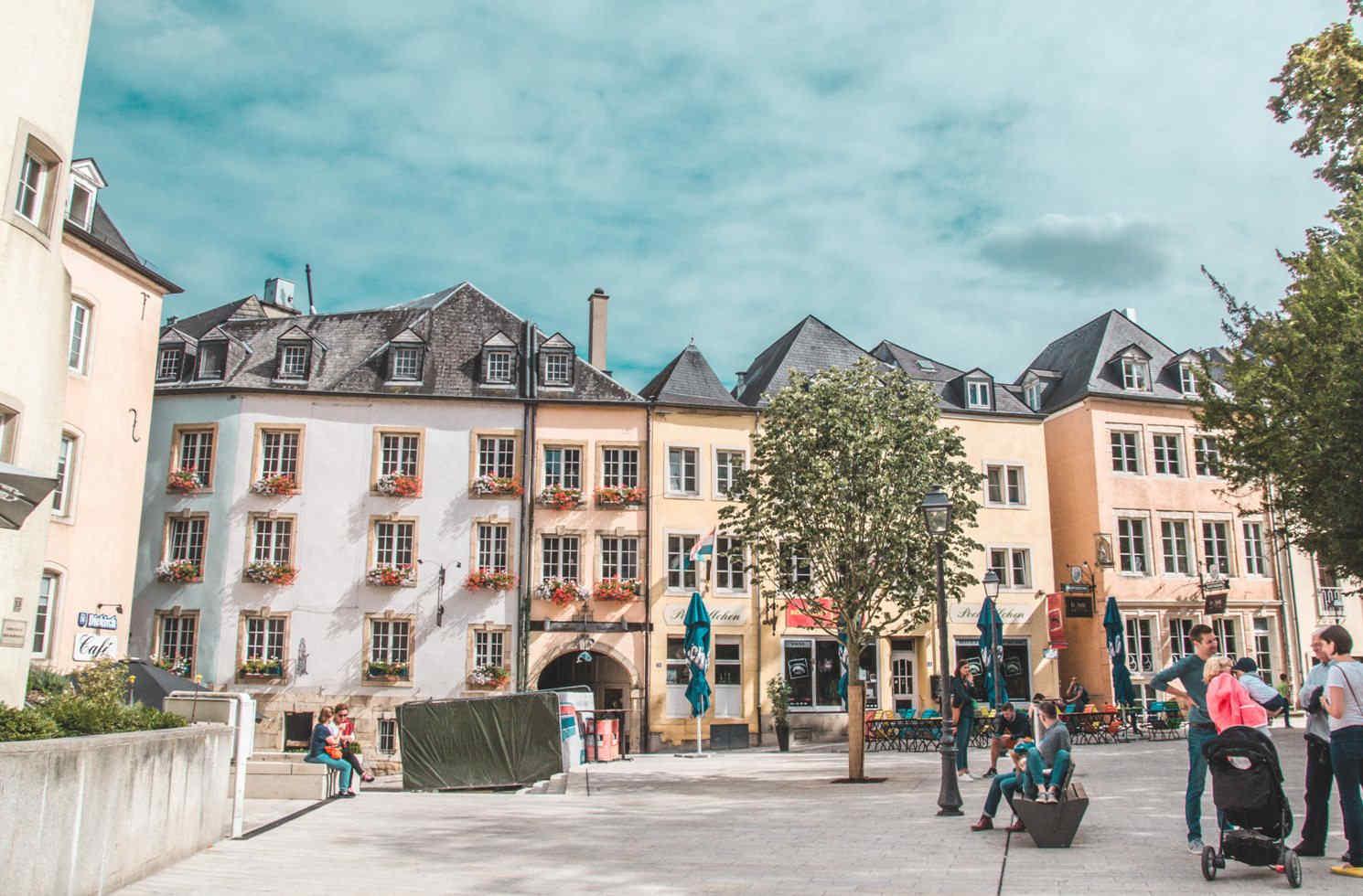 Arbeiten und Leben in Luxemburg