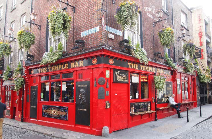 Temple Bar in Dublin, Irland