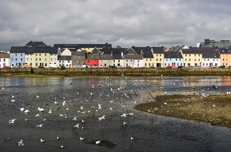 Galway in Irland