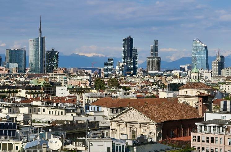 Mailand in Italien