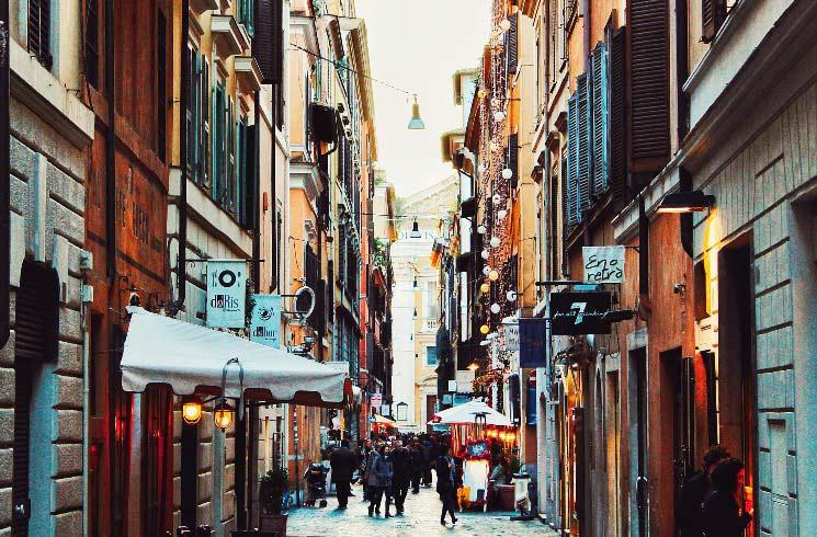 Rom in Italien