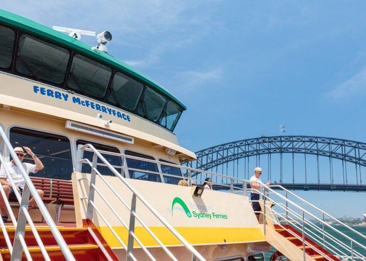 Im Hafen von Sydney