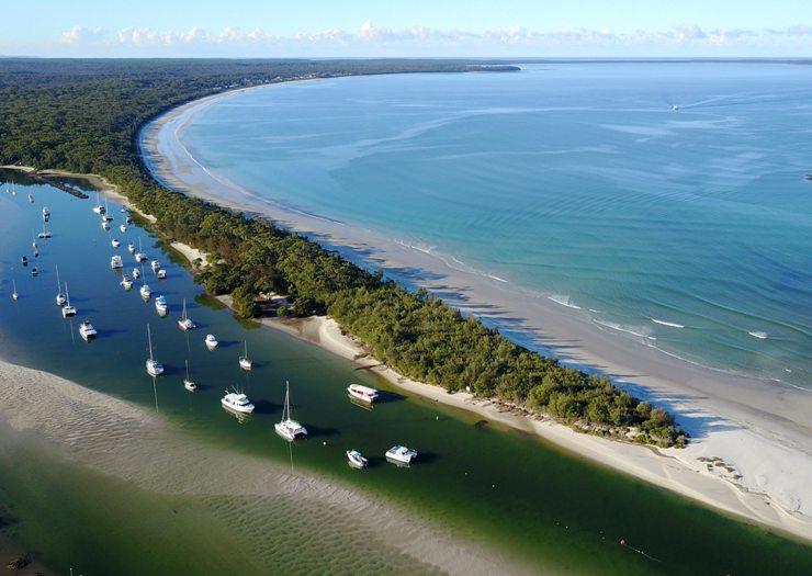 Küste vor Sydney in Australien