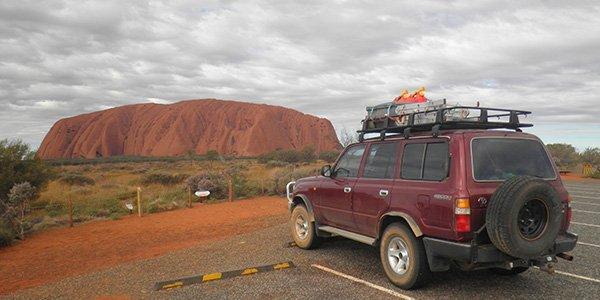 Uluru Felsformatien im australischen Outback