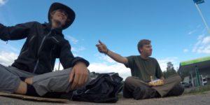 Digitale Nomaden trampen nach Italien
