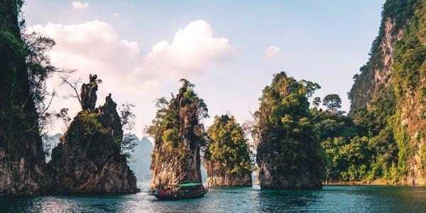 Wundervolle Natur in Thailand