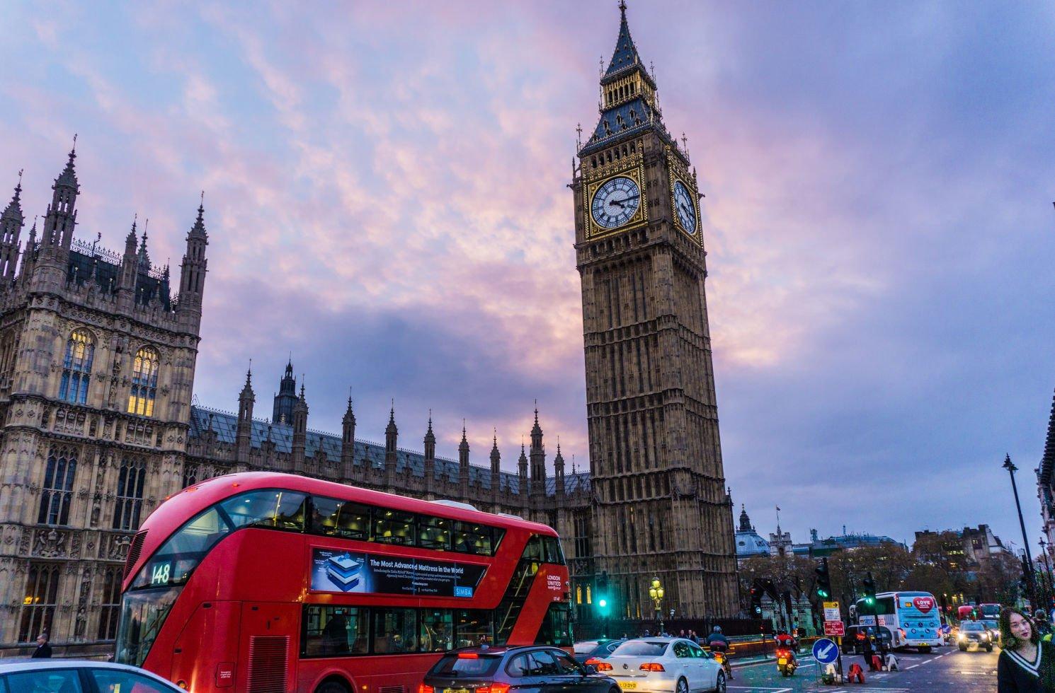 Arbeiten und Leben in England (London)