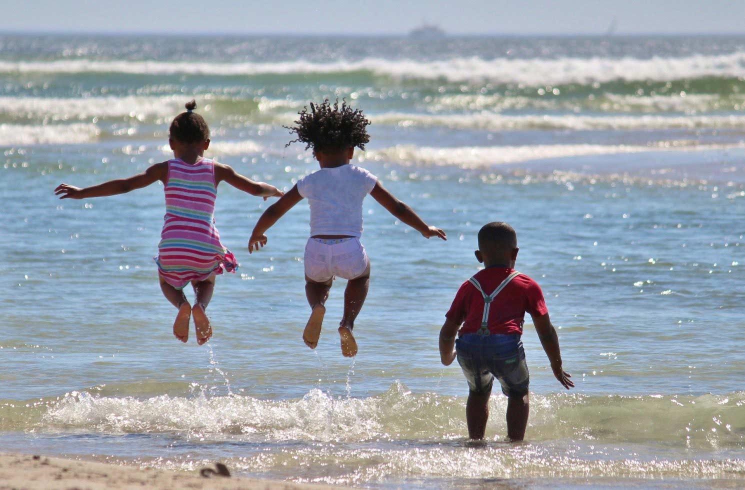 Kindern in Südafrika