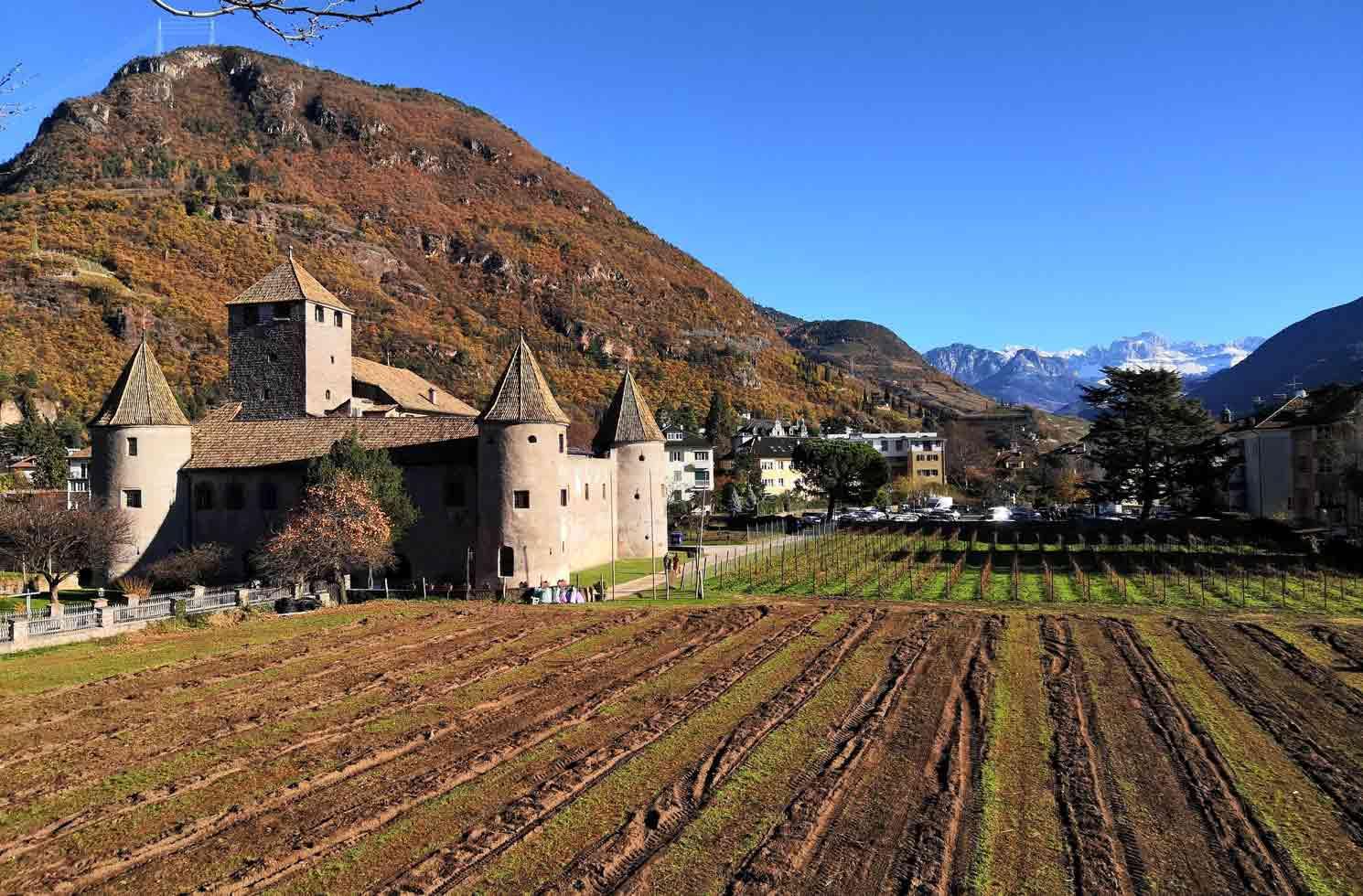 Castel Mareccio in Bozen in Italien