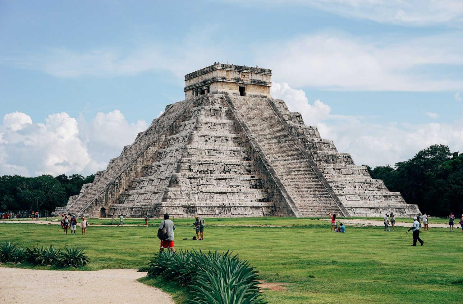 Die Pyramdien von Chichén Itzá, Mexico