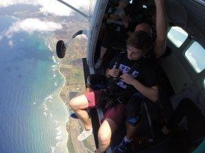 hawaii julian meier fallschirmsprung