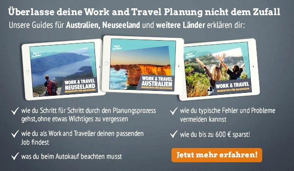 Work and Travel Ebooks für die Planung | Auslandsjob.de