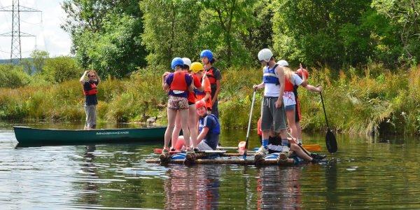Arbeite in einem britischen Sommercamp