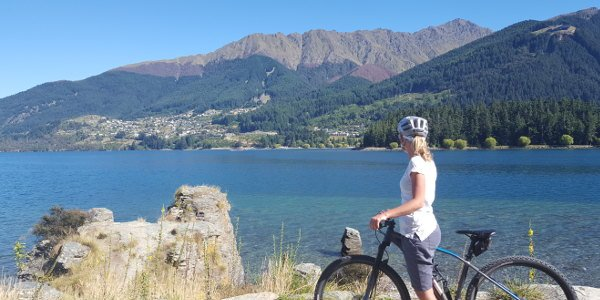 Fahrradtou bei Queenstown | Work and Travel Neuseeland