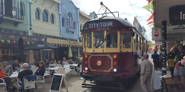 Tram in Christchurch | Work and Travel in Neuseeland