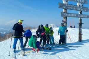 Skilehrerin Rusutsu Japan