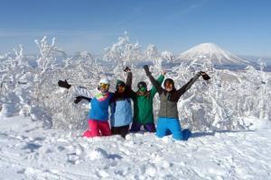 Skitag als Work & Traveler