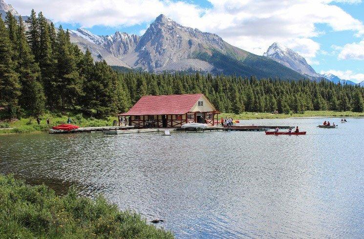 Kanu fahren in Kanada