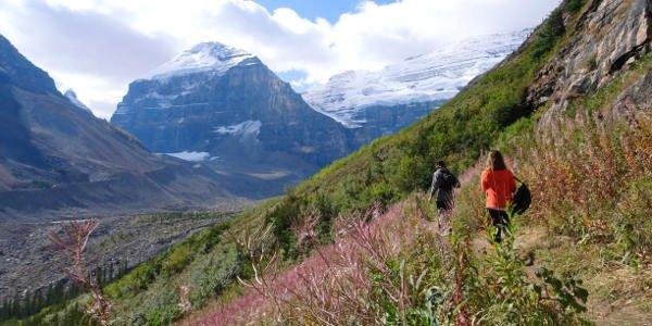 Vanessas Wanderung im Garibaldi Provincial Park