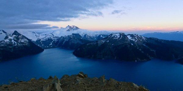 Vanessas Wanderung zum Aussichtspunkt Panorama Ridge in Kanada