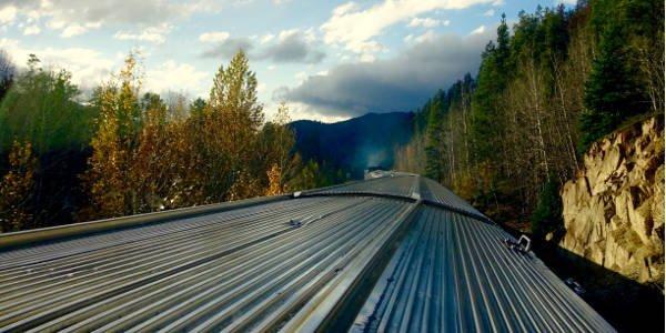 """Auf der Zugstrecke """"The Canadian"""" kann man vom Aussichtsabteil aus Kanadas Landschaft bewundern"""