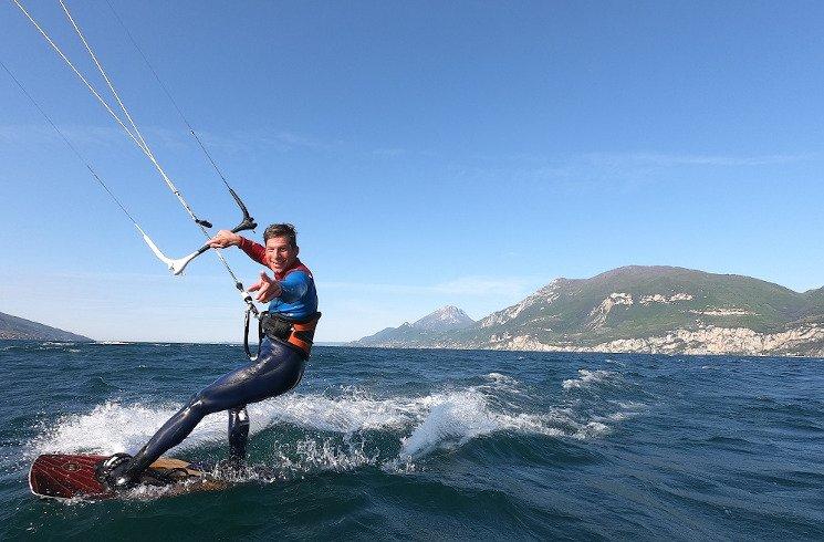 Kitesurf-Praktikum am Gardasee