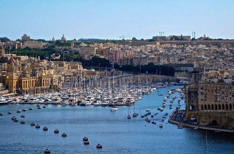 Segelhafen auf Malta