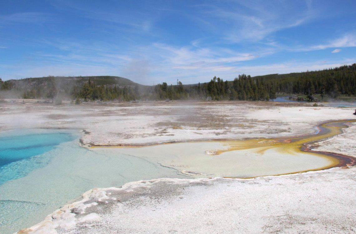Mammoth Hot Springs im Yellowstone Nationalpark