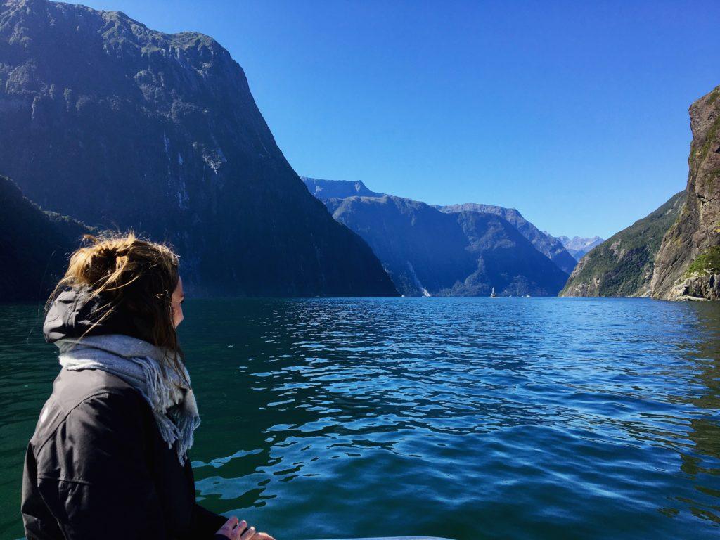 Fjorde in Neuseeland