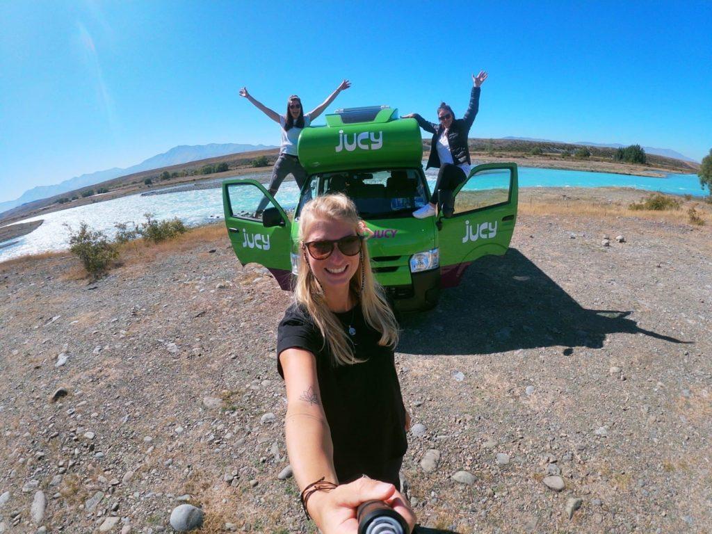 In Neuseeland mit dem Auto unterwegs