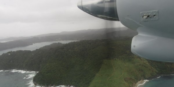 Flug nach Stewart Island