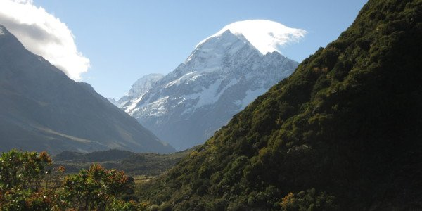 Mount Cook in Neuseeland