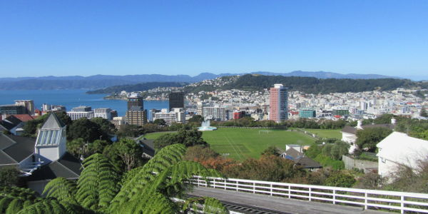 Wellington in Neuseeland