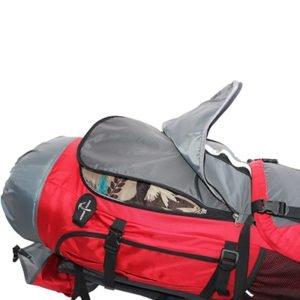 Der Work and Traveller enthält viele tolle Extras - unter anderem einen praktischen Frontzugriff.