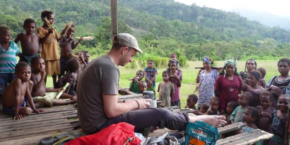 Im Dschungel Papua-Neuguines