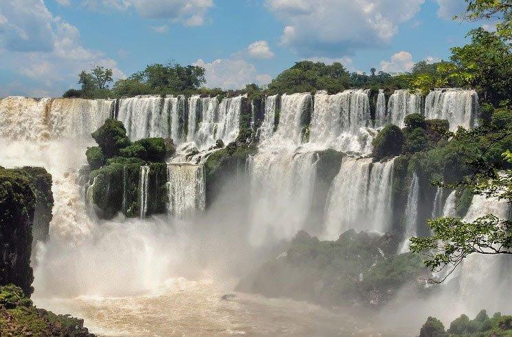 Iguazu-Wasserfälle in Argentinien
