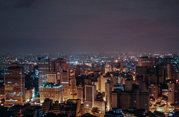 Sao Paulo in Brasilien
