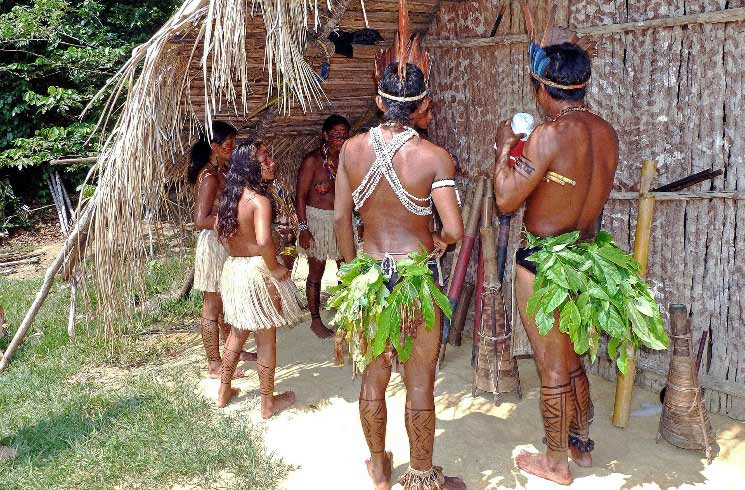 Ureinwohner, Amazonas, Brasilien
