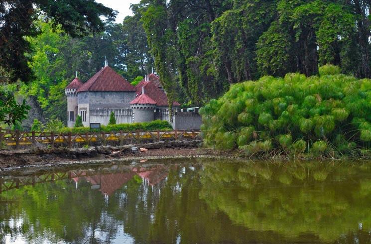 Schloß in Heredia, Costa Rica