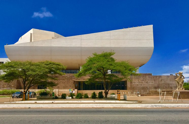 Nationaltheater in Accra, Ghana