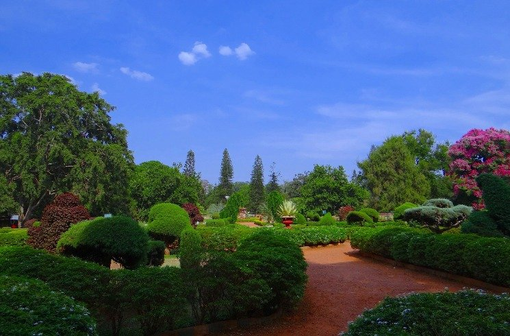 Botanischer Garten in Bangalore, Indien