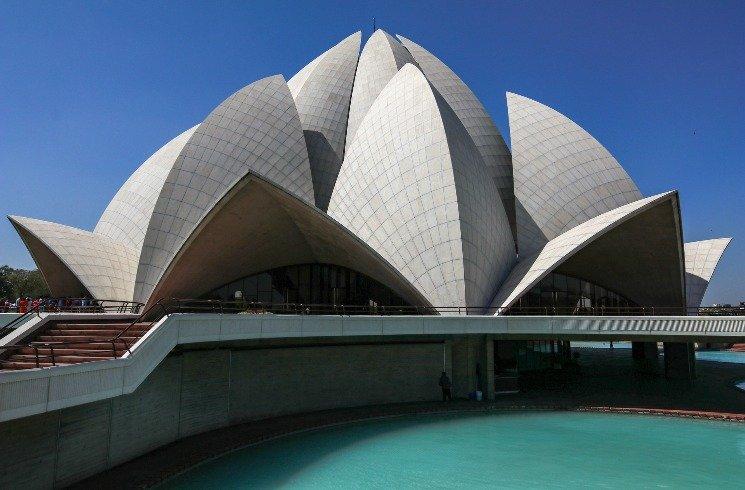Bauwerk in Neu Dehli, Indien