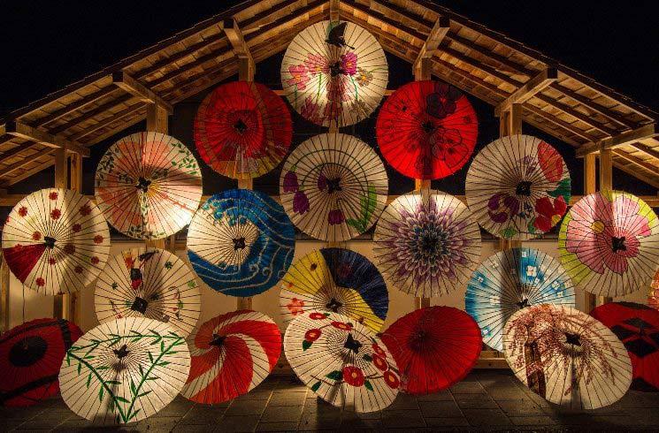 Schirme in Japan