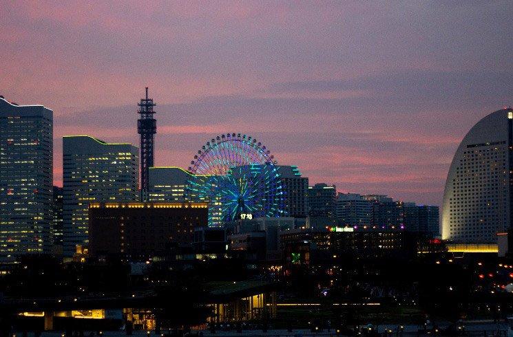 Yokohama in Japan